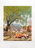 Ferme de St Simeon a Deauville Limited edition van Ramon Dilley