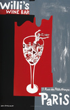 Willi's Wine Bar, 1997 Reproduction pour collectionneurs par Sophie Herxheimer
