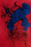 Hommage à Strawinsky III Samlertryk af Raymond Moretti