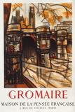 Expo 57 - Maison de la Pensée Française Samlertryk af Marcel Gromaire