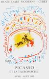 Expo 82 - Musée de Céret Lámina coleccionable por Pablo Picasso