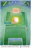 Copa del Mundo de Futbol 82 Samlartryck av Jean Michel Folon