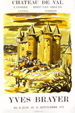 Expo 74 - Château de Bort les Orgues Collectable Print by Yves Brayer