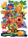 Bouquet de fleurs Limited Edition by Gabriel Paris