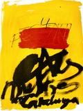 Expo 72 - Al mestres de Catalunya Samletrykk av Antoni Tapies