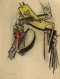 Montée des sèves Edição limitada por Wilfredo Lam