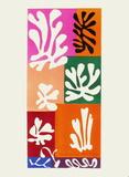 Verve - Fleurs de neige Samletrykk av Henri Matisse