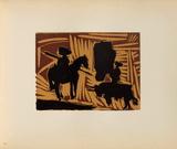LC - Avant la pique II Impressão colecionável por Pablo Picasso