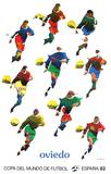 Copa del Mundo de Futbol 82 Sammlerdrucke von Pol Bury