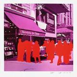 Boulevard des Italiens : le Distrait Limited Edition by Gérard Fromanger