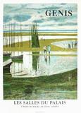 Expo 97- Les Salles du Palais I Samlertryk af René Genis