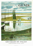 Expo 97- Les Salles du Palais I Collectable Print by René Genis