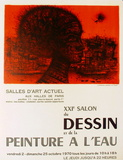 Expo 70 - Salon du Dessin Collectable Print by Jean Carzou