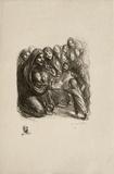 Pour les fillettes des soldats I Limitierte Auflage von Théophile Alexandre Steinlen