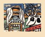 La chaise Plakater av Fernand Leger