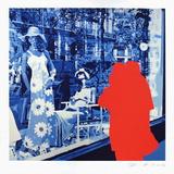Boulevard des Italiens : briser la glace Limited Edition by Gérard Fromanger