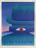 Blue Shadow Samletrykk av Jean Michel Folon