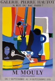 Expo 74 - Galerie Hautot Collectable Print by Marcel Mouly