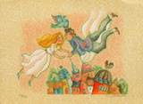 Les mariés I Limited Edition by Francoise Deberdt