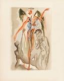 Divine Comedie, Purgatoire 32: Le Paradis terrestre Kerättävät vedokset tekijänä Salvador Dalí