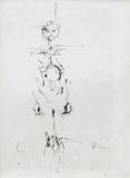 Femme nue debout Samletrykk av Alberto Giacometti