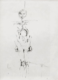 Femme nue debout Collectable Print by Alberto Giacometti
