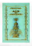 Festival Aix en Provence Samlingstryck av Jean Carzou