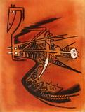 Soeur de la gazelle Edição limitada por Wilfredo Lam