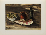 1927 - Nature morte au lard Collectable Print by Maurice De Vlaminck