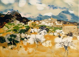 Village en Haute Provence Limited Edition by Michel Rodde