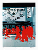 Boulevard des Italiens : le Cercle Rouge Limited Edition by Gérard Fromanger