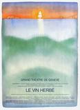 Grand Théatre de Genève Samlartryck av Jean Michel Folon
