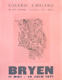 Expo 71 - Galerie Cavalero Impressões colecionáveis por Camille Bryen