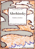 Expo 098 - Abbaye de Senanque Samlertryk af Pierre Alechinsky