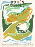 Expo 64 - Galerie Villand & Galanis Impressão colecionável por Francisco Bores