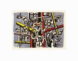 Les constructeurs Kunst av Fernand Leger