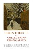 Expo 62 - Galerie Charpentier Sammlerdrucke von Pierre Bonnard