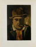 1922- Autoportrait Collectable Print by Maurice De Vlaminck