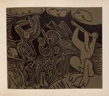 LC - Danseurs et musicien Impressão colecionável por Pablo Picasso