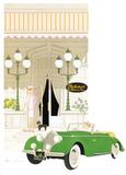 Le relais des Parcs Collectable Print by Denis-paul Noyer