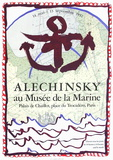 Expo 134 - Musée de la Marine Samlartryck av Pierre Alechinsky