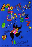 Expo 84 - Montreux Jazz Festival Samlertryk af Niki De Saint Phalle