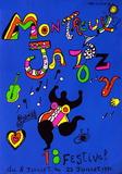 Niki De Saint Phalle - Expo 84 - Montreux Jazz Festival - Koleksiyonluk Baskılar