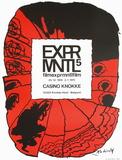 Expo 046 - Casino Knokke Samlartryck av Pierre Alechinsky