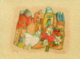 Les mariés III Limited Edition by Francoise Deberdt