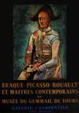 Expo 64 - Musée du Gemmail de Tours Impressão colecionável por Pablo Picasso