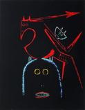 Comité France-Amérique Latine Serigrafi (silketryk) af Wilfredo Lam