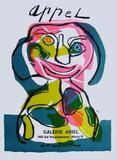 Expo Galerie Ariel Impressão colecionável por Karel Appel