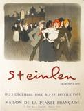 Expo Maison de la Pensée Française Collectable Print by Théophile Alexandre Steinlen