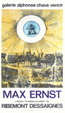 Expo Galerie Alphonse Chave Collectable Print by Max Ernst